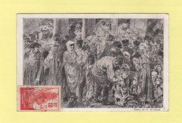 Gabon - N°79 Croix Rouge Sur Carte Postale (voir Texte) - Libreville 12 Mars 1916 - Gabon (1886-1936)
