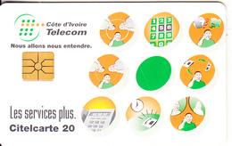 IVORY COAST - Telecom Services, Chip GEM1A, Used - Ivoorkust