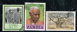 ZAMBIE - Oblitérés / Used - 1986/1987 - Sujets Divers - Zambie (1965-...)