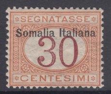 Italy Colonies Somalia 1909 Segnatasse Sassone#15 Mint Hinged - Somalia