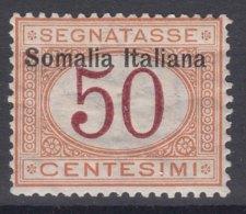 Italy Colonies Somalia 1909 Segnatasse Sassone#17 Mint Hinged - Somalia