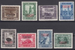 Italy Colonies Somalia 1934 Abruzzi Sassone#185-192 Mint Lightly Hinged - Somalia