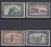 Italy Colonies Somalia 1930 Milizia Sassone#140-143 Mint Very Lightly Hinged Or Mint Never Hinged - Somalia