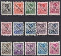 Germany Occupation Of Serbia - Serbien 1941 Mi#1-15 Mint Hinged - Besetzungen 1938-45