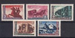 Germany Occupation Of Serbia - Serbien 1943 Mi#94-98 Mint Hinged - Besetzungen 1938-45