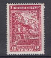 Germany Occupation Of Serbia - Serbien 1942 Mi#80 Mint Never Hinged - Besetzungen 1938-45