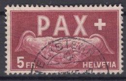 Switzerland PAX 1945 5 Fr Mi#458 Used - Schweiz