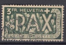 Switzerland PAX 1945 3 Fr Mi#457 Used - Schweiz