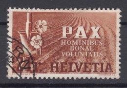 Switzerland PAX 1945 2 Fr Mi#456 Used - Schweiz