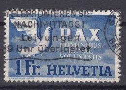 Switzerland PAX 1945 1 Fr Mi#455 Used - Schweiz