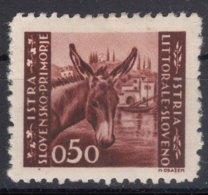 Istria Litorale Yugoslavia Occupation, 1946 Sassone#52 Mint Hinged - Jugoslawische Bes.: Istrien