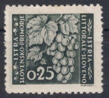 Istria Litorale Yugoslavia Occupation, 1946 Sassone#51 Mint Hinged - Jugoslawische Bes.: Istrien
