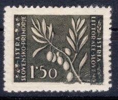 Istria Litorale Yugoslavia Occupation, 1946 Sassone#54 Mint Hinged - Jugoslawische Bes.: Istrien