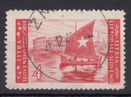 Istria Litorale Yugoslavia Occupation, 1946 Sassone#56 Used - Jugoslawische Bes.: Istrien