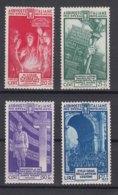 Italy Kingdom 1935 Sassone#380-383 Mi#523-526 Mint Hinged - 1900-44 Victor Emmanuel III