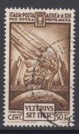 Italy Kingdom 1935 Posta Aerea Sassone#A89 Mi#527 Used - 1900-44 Victor Emmanuel III