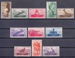 Italy Kingdom 1934 Medaglie Sassone#366-376 Mi#494-504 Mint Hinged - 1900-44 Victor Emmanuel III