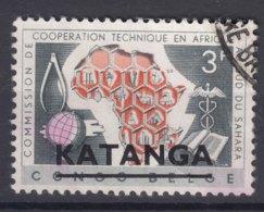 Belgium Colonies Katanga 1960 Mi#5 Used - Katanga