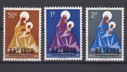 Belgium Colonies Katanga 1960 Mi#1-3 Mint Never Hinged - Katanga