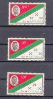 Belgium Colonies Katanga 1961 Mi#66-68 Mint Never Hinged - Katanga