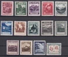 Liechtenstein 1930 Mi#94-107 Mint Lightly Hinged - Liechtenstein