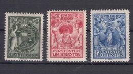 Liechtenstein 1932 Mi#116-118 Mint Hinged - Liechtenstein