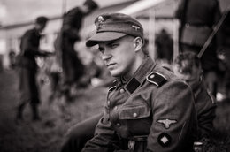 CASQUETTE SS 1943 WW2 - Casques & Coiffures