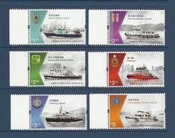 Hong Kong 2015 ** Bateaux Ships Government Vessels Bdf - 1997-... Région Administrative Chinoise