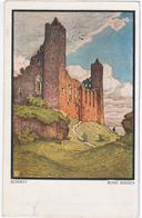 Poland Polska 1911 Bendrat Ruine Rheden, Danzig, Gdansk - Allemagne