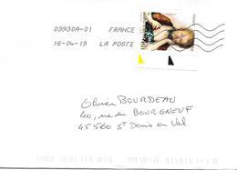EMILIE DU CHÂTELET, 0,88€ Sur Lettre Au 16-04-19 - Marcophilie (Lettres)