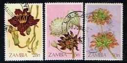 ZAMBIE - Oblitérés / Used - 1983 - Fleurs - Zambie (1965-...)