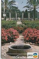 TARJETA TELEFONICA DE ISRAEL. FLORA - Ramat Hanadiv. 208B. BZ-341. (325). - Flores