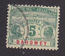 Dahomey, Scott #J1, Used, Dahomey Natives, Issued 1906 - Dahomey (1899-1944)