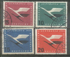 ALEMANIA FEDERAL  - YVERT 81/84 (#1031) - Usados