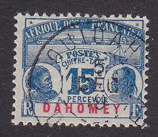 Dahomey, Scott #J3, Used, Dahomey Natives, Issued 1906 - Dahomey (1899-1944)