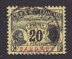 Dahomey, Scott #J4, Used, Dahomey Natives, Issued 1906 - Dahomey (1899-1944)