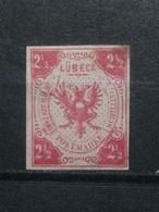 Altedeutschland Lübeck Mi-Nr.4 (* )Ungebraucht KW-600€ - Luebeck
