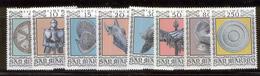 SAN MARINO 1974 16th Century Armor Scott Cat. No(s). 832-839 MNH - Unused Stamps