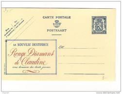 Publibel Neuve N° 495 (le Nouveau Dentifrice: Rouge Diamant De Claudine) - Entiers Postaux