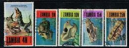 ZAMBIE - Oblitérés / Used - 1973 - Animaux Préhistoriques - Zambia (1965-...)