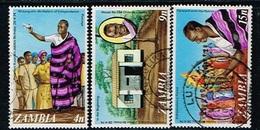 ZAMBIE - Oblitérés / Used - 1974 - 50 Ans Du Président Kaunda - Zambie (1965-...)