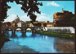 Rom / Roma  -  Ponte E Castel S. Angelo  -  Ansichtskarte Ca.1964   (10608) - Ponts