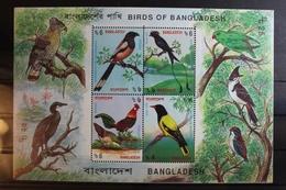 Bangladesch Block 21 Mit 485-488 ** Postfrisch Vögel #RS202 - Bangladesch