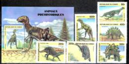647  Prehistoric Fauna - Congo 1999 - MNH - 2,75 - Timbres