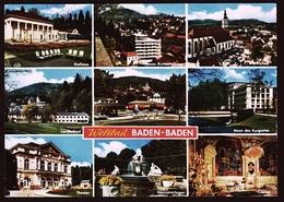 Baden Baden  -  Mehrbild-Ansichtskarte Ca. 1975    (10613) - Baden-Baden