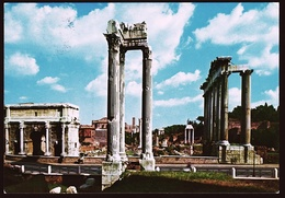 Rom / Roma  -  Römisches Forum  -  Ansichtskarte Ca.1971   (10614) - Roma (Rome)