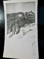 PHOTO ORIGINALE _ VINTAGE SNAPSHOT : VILLAGE _ FORET _ TORRENT _ 1957 - Lieux