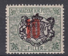 Romania Sibiu 1919 Local Overprint On Hungary Stamp - Other