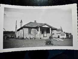 PHOTO ORIGINALE _ VINTAGE SNAPSHOT : MAISON à HEYWORTH'S _ STONYHURST _ ROYAUME UNI _ 1957 - Lieux