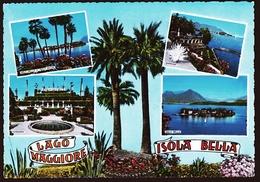 Isola Bella / Lago Maggiore  -  Mehrbild-Ansichtskarte Ca. 1970    (10623) - Italie